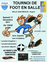 Tournoi caritatif de Futsal au profit des Restos du Coeur