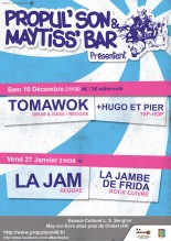 Soire Concert avec TOMAWOK et HUGO &#038; PIER