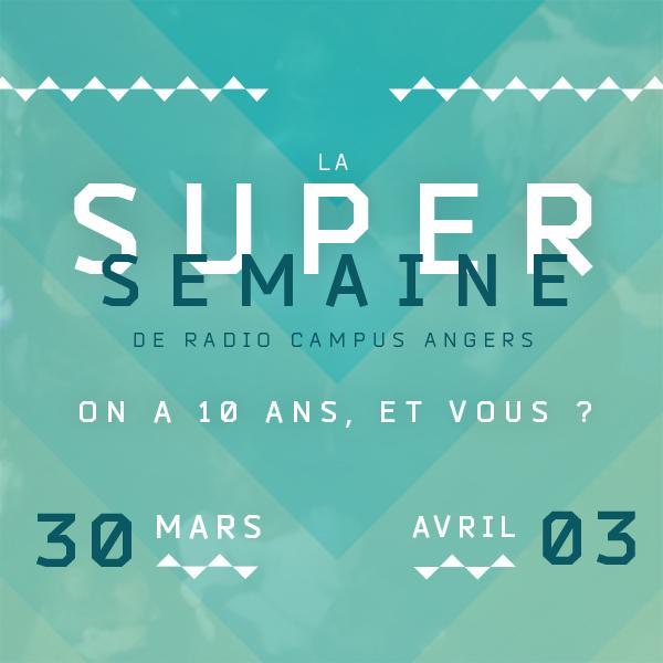 LA SUPER SEMAINE DE RADIO CAMPUS ANGERS