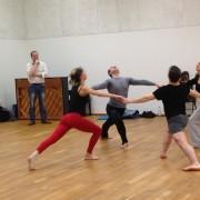 Des étudiants danseurs dans l'ArtyShow