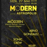 MODERN invite Astro & Puppetmastaz