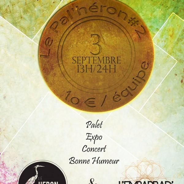 Palet, spectacles et expo samedi au Héron Carré !