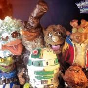 On a eu au tél' les Puppetmastaz !