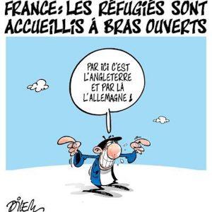 Comment accueille-t-on les réfugiés en France ?
