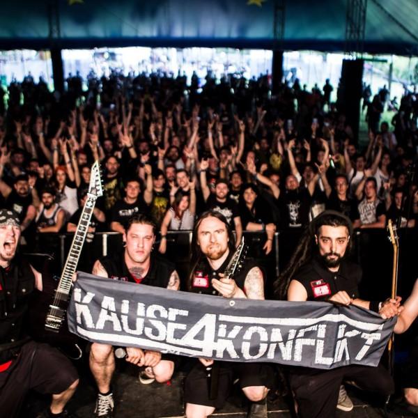 Hellfest 2015 : l'Offensive Warcore de Kause 4 Konflikt
