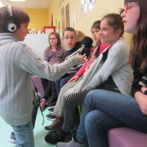 Une journée à l'école de St Laurent des Autels