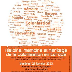 #05 La Colonisation en Europe