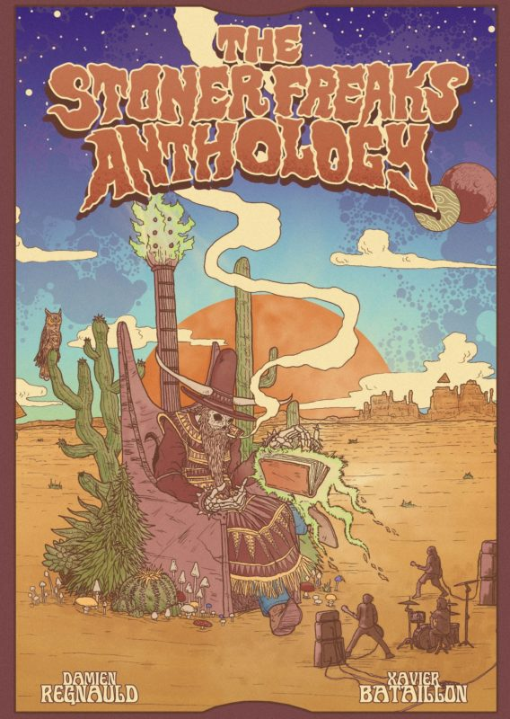 cover 'the stoner freaks anthology'
